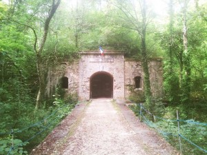 Fort Brulé paintbal Dijon entrée